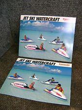 KAWASAKI JET SKI WATERCRAFT 1992 YEAR MODELS SALES FLYER BROCHURE LITERATURE OEM