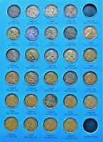 28 COINS FROM 1909-1940 WHEAT CENT/PENNY FOLDER (PAGE 3) NO FOLDER