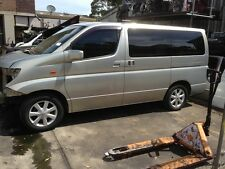 NISSAN E51 ELGRAND FRONT LEFT GUARD E51 PARTS WRECKING SYDNEY IMPORTED ELGRAND