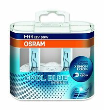 OSRAM H11 COOL BLUE® INTENSE Halogen-Scheinwerferlampen DUO BOX 64211CBI-HCB