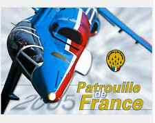 PATROUILLE DE FRANCE PAF 2005 AEROBATIC TEAM AIRCRAFT RED ARROWS FOUGA - DVD