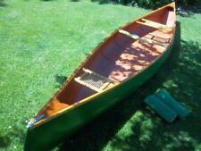 rare Vtg Pinetree Kevlar 16 ft canoe built in canada / paddles
