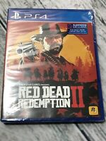 Red Dead Redemption 2 (PlayStation 4, 2018) Playstation Exclusive