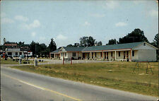 Elm City North Carolina America color USA AK ~ 1960/70 motel toisnot Street View
