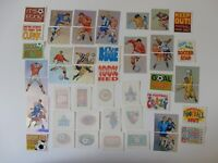 48 PANINI SUPERPLAYERS STICKERS/TATTOOS (SOLD TO COLLECT NOT USE) C1998 FOOTBALL