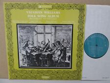 VSL 11021- ALFRED DELLER CONSORT- Vaughan Williams Folk Song Album LP NM