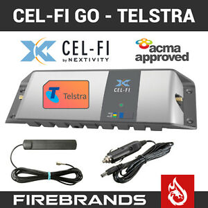 TELSTRA CEL-FI GO Mobile Phone Signal Repeater Booster Vehicle CELFI 3G 4G Truck