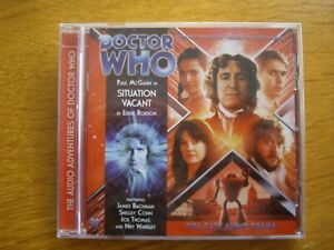 Doctor Who Situation Vacant, 2010 Big Finish audio book CD *SEALED*