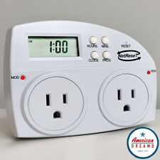 NETRESET-Digital Timer Outlet/Automatic Modem & Router Rebooter | FREE FAST SHIP