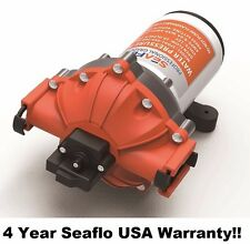 SEAFLO Marine Water Pump 12V 60 PSI 5.0 GPM Boat 4 Year Warranty! Quick Connect