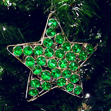 Christmas Ornament Xmas Tree Topper Bling Party Decorations Baubles