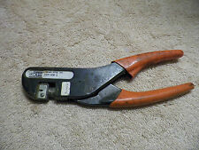 CANNON PLUGS CCT-KM-1 CRIMP TOOL RATCHET PLIERS AVIATION ELECTRICAL