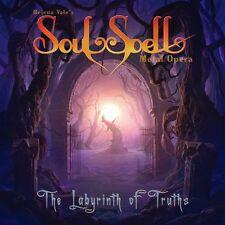 SOULSPELL METAL OPERA-THE LABYRINTH OF TRUTHS-JAPAN CD BONUS TRACK F75