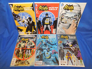 DC Batman '66 Meets The Man from UNCLE 1,2,3,4,5,6 Full Story! Allred Covers 1-6