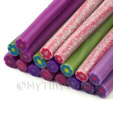 Flor de color sólido 18 Mezclados bastones-Arte en Uñas (11 NCST 6)