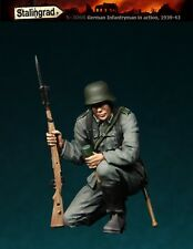 STALINGRAD GERMAN INFANTRYMAN IN ACTION 1939/43 #2 Scala 1/35 Cod.S-3068
