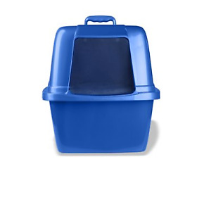 Extra Large Cat Litter Box Enclosed Sifting Pan Hooded Jumbo Covered Kitty House