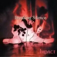 Breaking Silence ‎– Impact CD (Serious Ent., 2000)  rare cardsleeve promo Metal