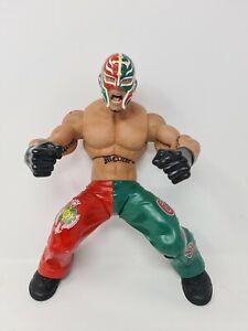 "WWE Wrestling Action Figure 2005 Jakks Pacific Ring Giant's 14"" Rey Mysterio WWF"
