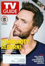 2015 TV Guide: Joel McHale - The Funny Issue/Community Reborn/Lenord Nimoy