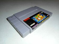 The Simpsons: Bart's Nightmare by Acclaim Rare (Super Nintendo, 1992) SNES Game
