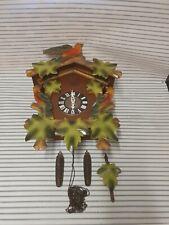 Vintage German e schmeckenbecher cuckoo clock