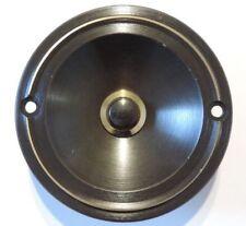 Klingeltaster Klingelkontakt Knopf messing bronze 83mm rund brüniert UP #10751