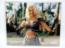 "Hudson Leick Xena Warrior Princess Signed Autograph Press Photo 8"" x 10"" W/ COA"