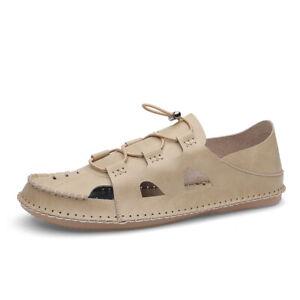 Summer Men's Hollow Out Breathable Sand Walking Non Slip Shoe Beach Sandal Shoes