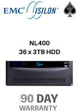 EMC Isilon NL400 Complete 36x 3TB HDD NAS Server