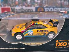 """1/43 Peugeot 405 T16 Paris - Dakar Bjorn waldegard 1990  by IXO """"Camel"""""""