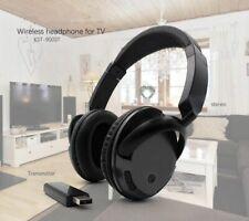 Wireless TV Headset Headphones Home Theater headset Computer PC MP3 Music