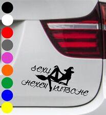 WD Autoaufkleber SEXY HEXY HEXE HEXENKUTSCHE Tuning Aufkleber Sticker Sprüche