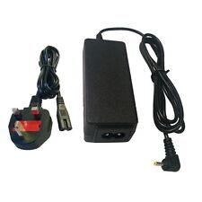 Mini portable chargeur pour ASUS Eee PC 1005HA 1008HA 1001HA + cordon d'alimentation de plomb