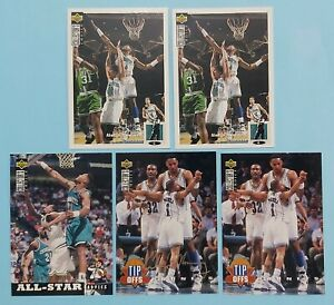Japanese 1994-95 Collector's Choice Basketball Alonzo Mourning Sliver Signature