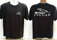 RSR JAGUAR RACING BLACK T SHIRT - No Fear - Size M