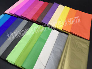 Bulk Acid Free Tissue Paper Gift Wrap Wrapping 500 X 660mm 30+ colours
