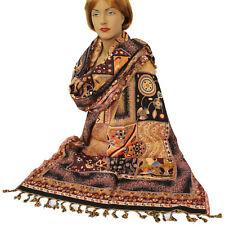 bufanda pañuelo mujer Cálido Classic Estilo Larga Oriente jamawar 200x70cm