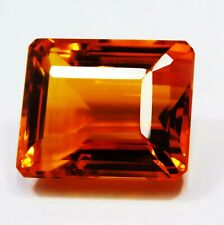 Natural Certified Emerald 47 Ct Imperial Color Translucent Topaz Loose Gemstone