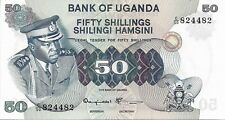 UGANDA 1973 50 Shillings P8c UNC