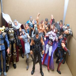 Hokuto No Ken Figure Lot FIST OF THE NORTH STAR COLLECTION Japanese Anime