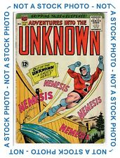 Adventures Into The Unknown #154 - 1st App Nemesis Key Issue - 1965 6.0 FN ACG