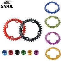 SNAIL MTB Bike 104bcd Chainring Round/Oval Narrow Wide Bicycle Chainwheel 32-42t