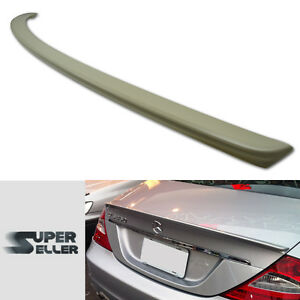 Fit For Mercedes Benz W219 CLS SEDAN ORIGINAL OE TRUNK BOOT SPOILER WING ABS