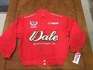 Vintage NASCAR Dale Earnhardt Jr. Kids Youth Medium JACKET NWT WINSTON CUP