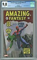 Amazing Fantasy Facsimile Edition #15 CGC 9.8 Variant Edition First Spider-Man