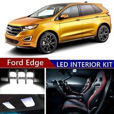 12pcs LED Xenon White Light Interior Package Kit for Ford Edge 2007-2015