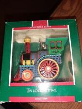 Hallmark Ornament 1989 Tin Locomotives Collector's Series #8 Train NIB