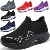 Womens Air Cushion Casual Sneakers Athletic Running Jogging Tennis Shoes Gym US