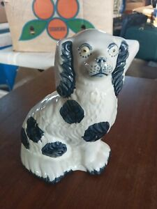 """Staffordshire Dogs Burleigh Mantle Ornament 7"""""""